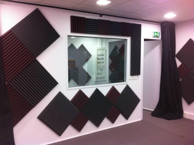 Sonex construction r alisation travaux acoustiques for Isolation phonique studio